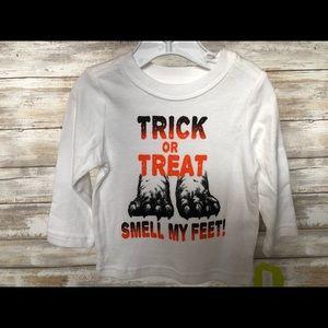 Gymboree Halloween Trick or Treat 6-12mon T-Shirt